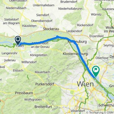 Donau-Radtour 2020 - Etappe 3