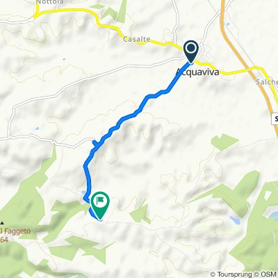 Easy ride in Montepulciano