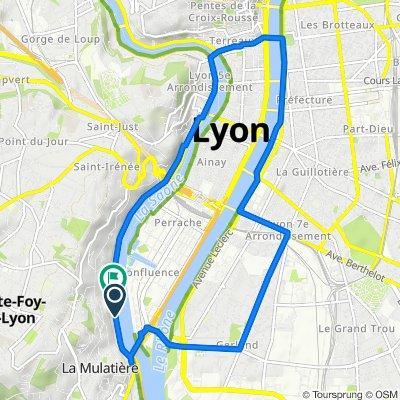 Sporty route in La Mulatière 00