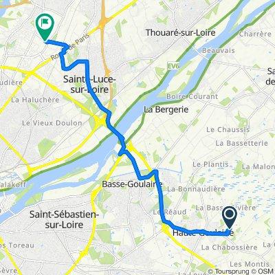 De 9 Rue de la Croix des Tailles, Haute-Goulaine à 85 Rue du Bêle, Nantes