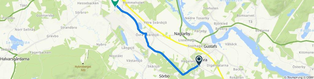 Stationsvägen 8 nach Nybrovägen 18