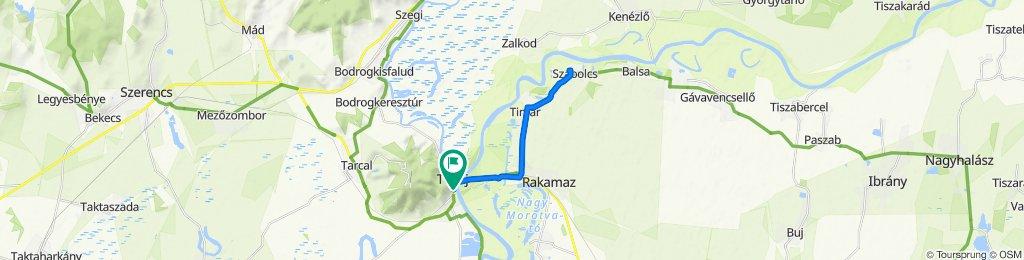 Tokaj - Szabolcsi földvár
