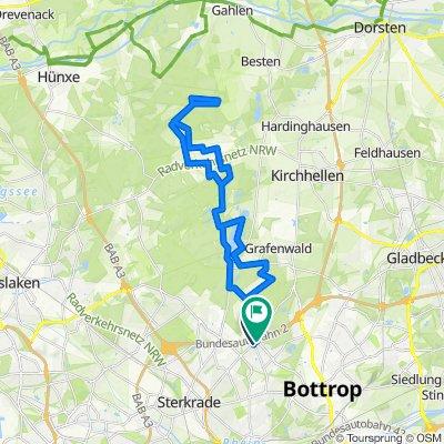 Heidhof, schwarze Heide, Gartrop