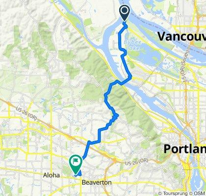 8349 N Marine Dr, Portland to 15272 SW Millikan Way, Beaverton