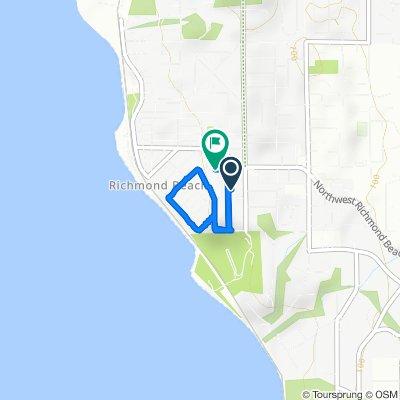 Moderate route in Shoreline