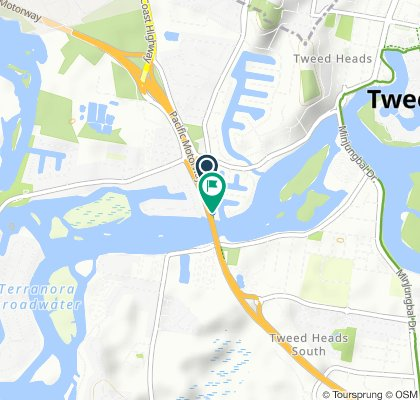 Moderate route in Tweed Heads