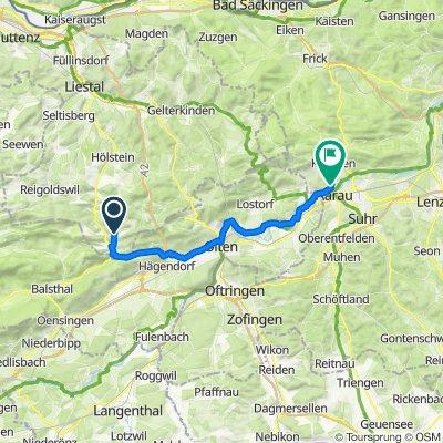 Schönthal 159A–162, Langenbruck nach Im Tannengut 5, Aarau