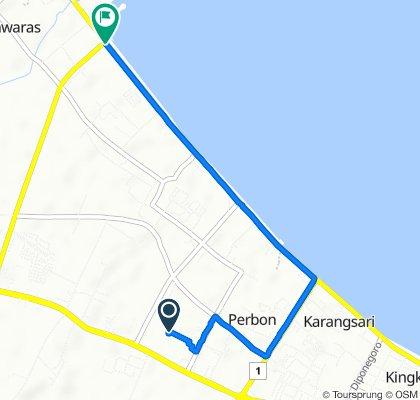 Perbon, Kecamatan Tuban to Jalan Raya Pantura, Kecamatan Jenu