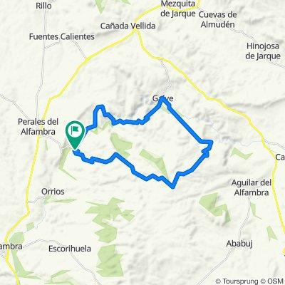 De Calle Mayor 17, Villalba Alta a Calle Mayor 17, Villalba Alta