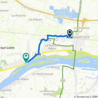 Steady ride in Chouzé-sur-Loire