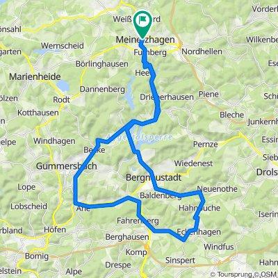 Fahrradtour von OCEANLINE in Meinerzhagen zum Affen- und Vogelpark Eckenhagen.