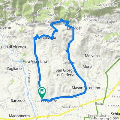 Da Borgo Santa Maria 23, Breganze a Borgo Santa Maria 25, Breganze