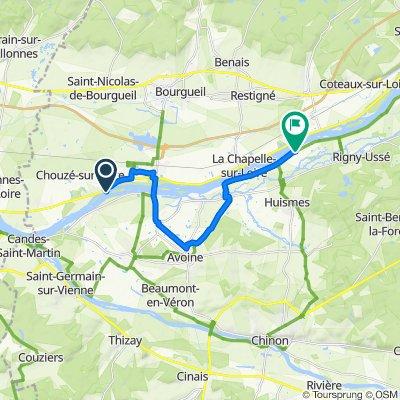 Easy ride in La Chapelle-sur-Loire