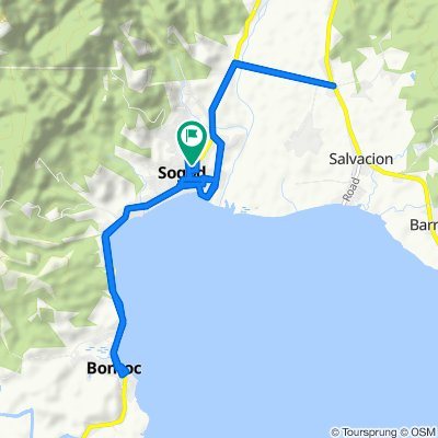 Boundary Southern Leyte-Maasin-Macrohon-Sogod Road, Sogod to Boundary Southern Leyte-Maasin-Macrohon-Sogod Road, Sogod