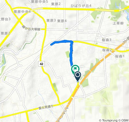 Easy ride in Ayase-Shi