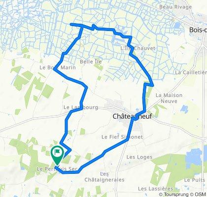 De 23 Chemin du Perthuis Sec, Châteauneuf à 23 Chemin du Perthuis Sec, Châteauneuf