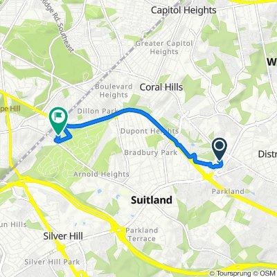 Slow ride in Suitland