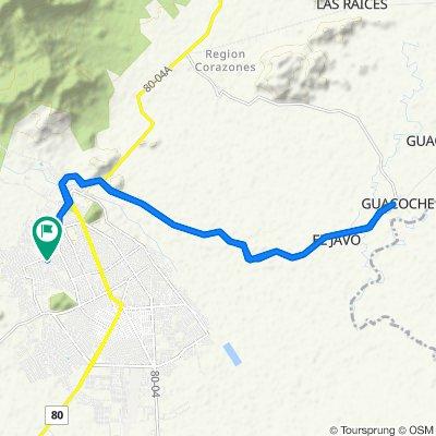 De Calle 6C 32-94, Valledupar a Calle 6C 32-94, Valledupar