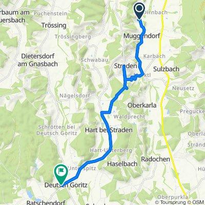 Muggendorf 115 nach Deutsch Goritz 30