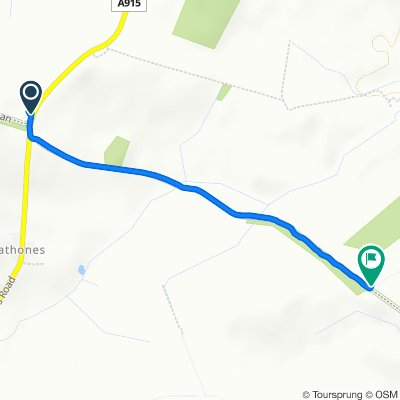 A915, Leven to B940, Leven