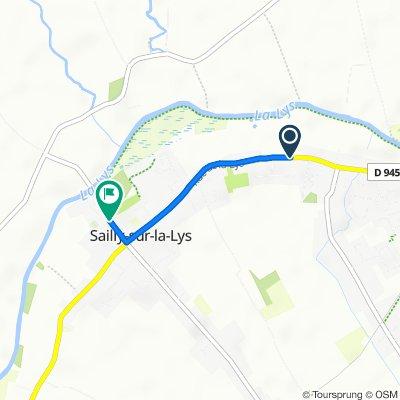 De 2275 Rue de la Lys, Sailly-sur-la-Lys à 31 Rue de l'Église, Sailly-sur-la-Lys