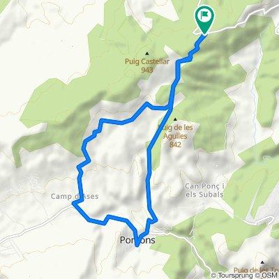Moderate route in Sant Martí Sarroca