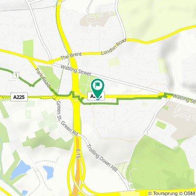 544–576 Princes Road, Dartford to 550 Princes Road, Dartford
