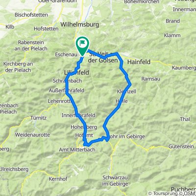 Traisen-KalteKuchl-60km-650hm