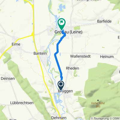 Easy ride in Gronau