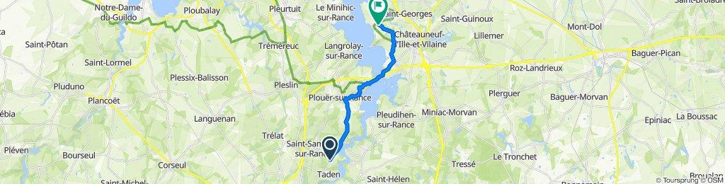 Itinéraire modéré en Saint-Suliac