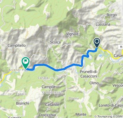 Slow ride in Campitello