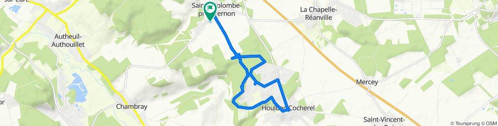 Moderate route in Sainte-Colombe-près-Vernon