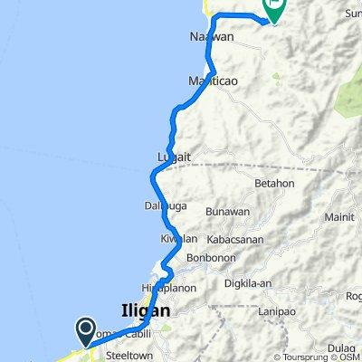 Misamis Oriental - Maria Cristina Boundary Road, Iligan City to Tagbalogo