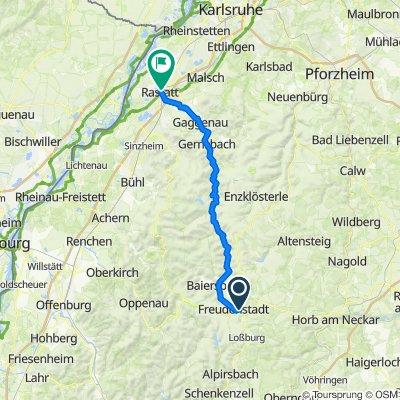 Tour de Murg - Freudenstadt - Rastatt