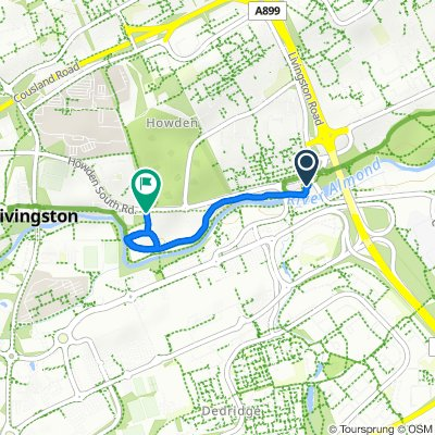 4 Ontario Avenue, Livingston to Howden South Road, Livingston