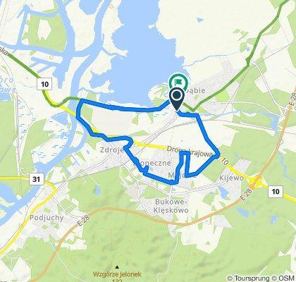 Relaxed route in Szczecin