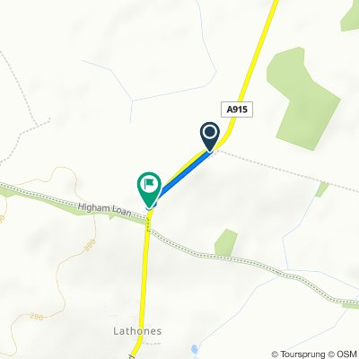 A915, St Andrews to A915, Leven