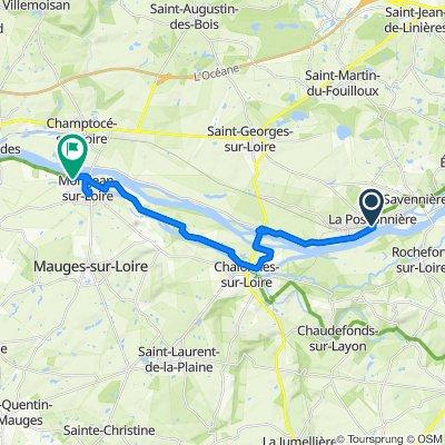 La Possonniere à Montjean/Loire