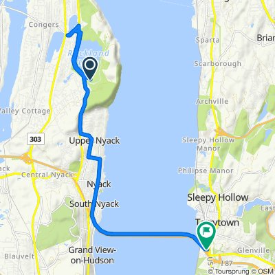 Moderate route in Tarrytown