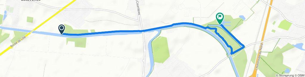 De Chemin du Halage, Carvin à Chemin du Halage 5, Oignies