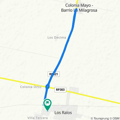 Relaxed route in Los Ralos