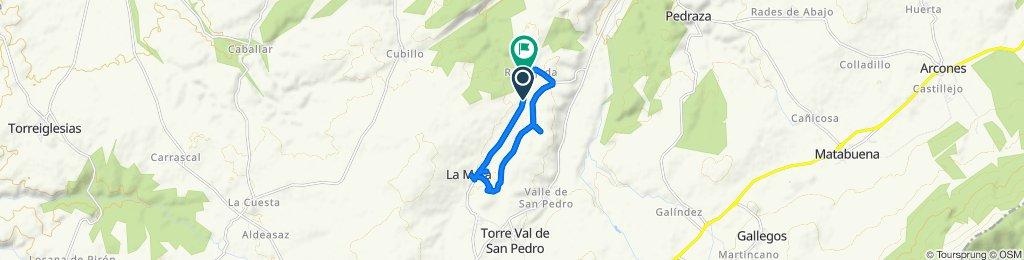 De Camino Real Viejo, Santiuste de Pedraza a Calle de las Eras Requijada, 1, Santiuste de Pedraza