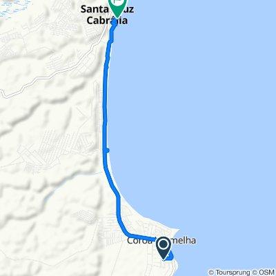 Restful route in Santa Cruz Cabrália