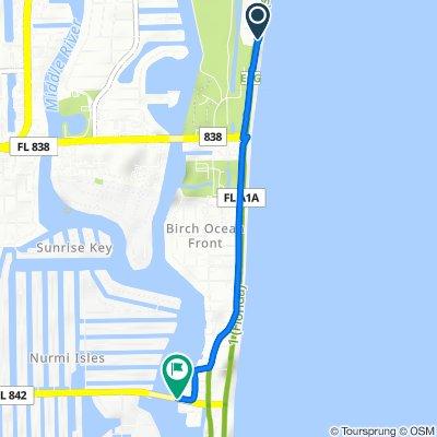 1346–1398 N Fort Lauderdale Beach Blvd, Fort Lauderdale to E Las Olas Blvd, Fort Lauderdale
