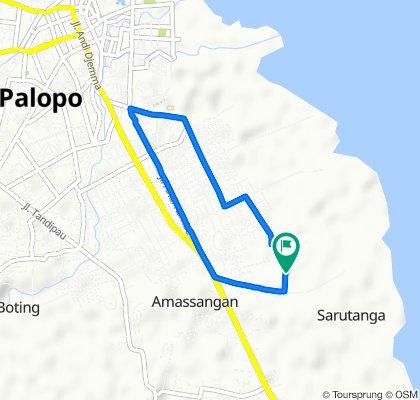 Steady ride in Kota Palopo