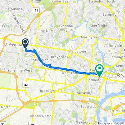 53 Derrimut Street, Albion to 4-12 Buckley Street, Footscray