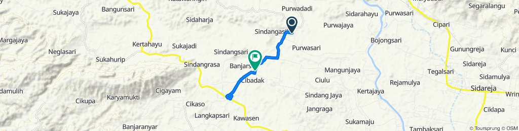 Unnamed Road, Purwadadi to Jalan Banjarsari - Lakbok, Kacamatan Banjarsari