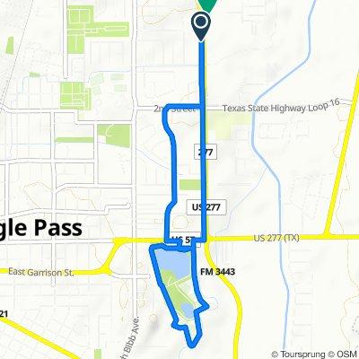 De 2279 N Veterans Blvd, Eagle Pass a 2374 N Veterans Blvd, Eagle Pass