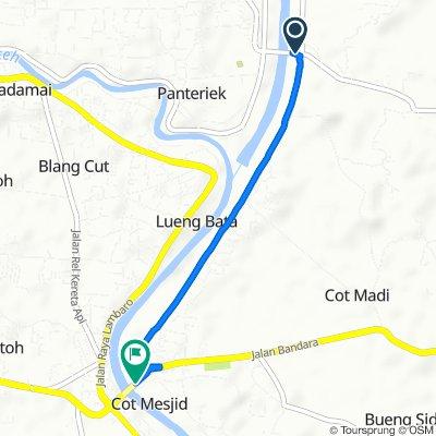 Jalan Blang Bintang Lama, Kuta Baro to Jalan Bandara Sultan Iskandar Muda, Ingin Jaya