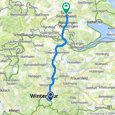 Winterthur nach Singen